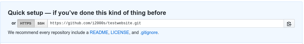 Changing the Repository URL on GitHub